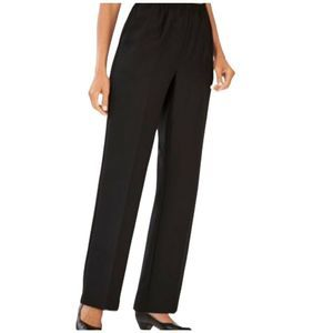 New Alfred Dunner Pants Black Plus Sz 16